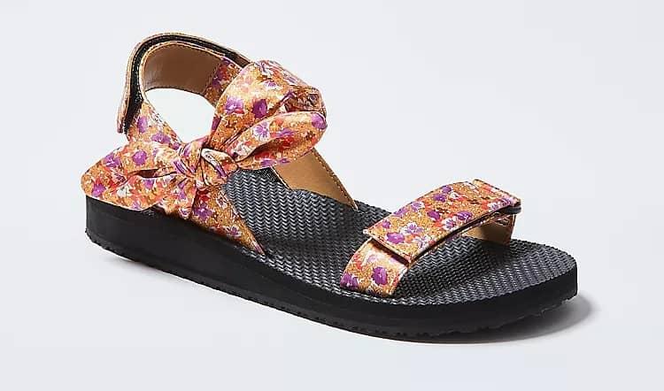 Ann Taylor Hailey Floral Sandals