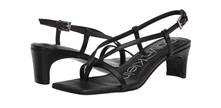 Calvin Klein Willo Strappy Dress Sandals