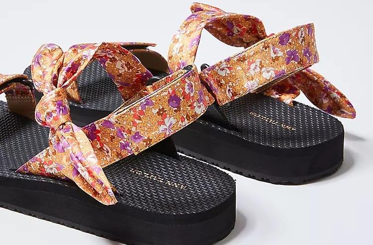 Hailey Floral Sandals